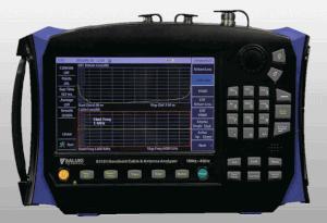Analizador de cables y antenas