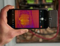 Cámara termográfica para smartphones de bajo coste