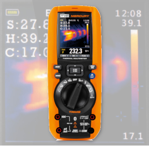 Multímetro térmico digital