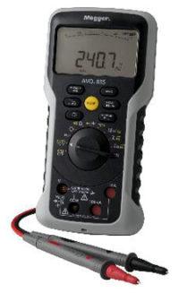 Multímetros digitales con amplio rango de tensión