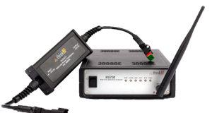 Analizador de espectro con soporte para GNSS