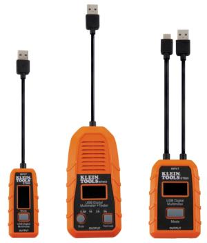 Medidores de potencia en puertos USB