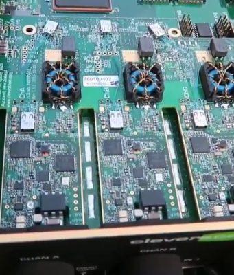 osciloscopio de 200 MHz y cuatro canales aislados