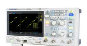 Osciloscopio de dos canales a 2 Gs/s