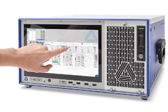 Analizador de potencia de señal mixta