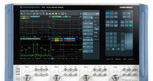 Analizador de red vectorial de elevado rendimiento RF
