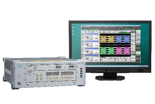 Osciloscopio de muestreo para cuatro canales