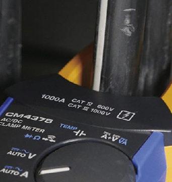 Pinzas amperimétricas para corrientes AC de hasta 2000 A