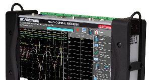 Grabador multicanal para adquisición de datos