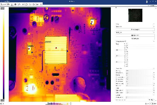 Software de análisis de imágenes térmicas