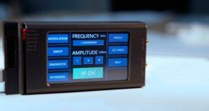 Generador portátil de señal RF