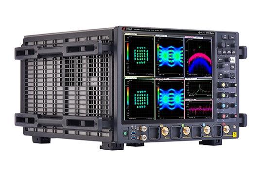 Osciloscopio multicanal para mediciones mmWave
