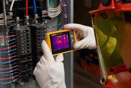 Cámara profesional termográfica de bolsillo