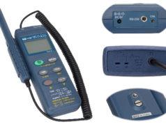 Medidores de temperatura y humedad