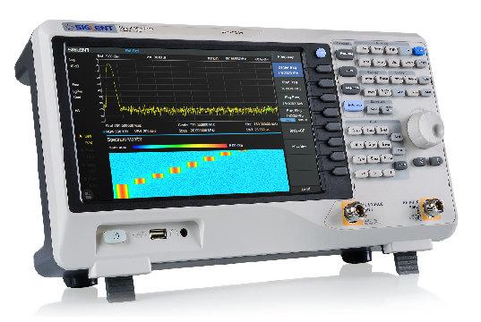 Analizadores de espectro con pantalla táctil