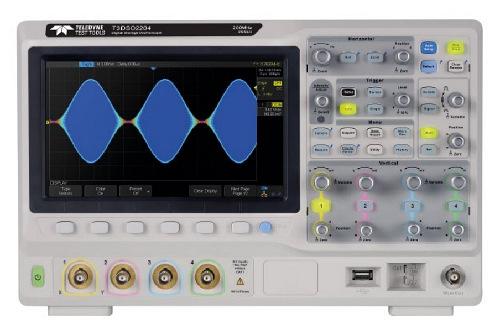 Osciloscopios de dos y cuatro canales