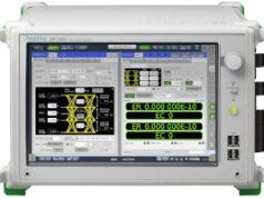 Analizador de señal con transceptor de 400 GbE