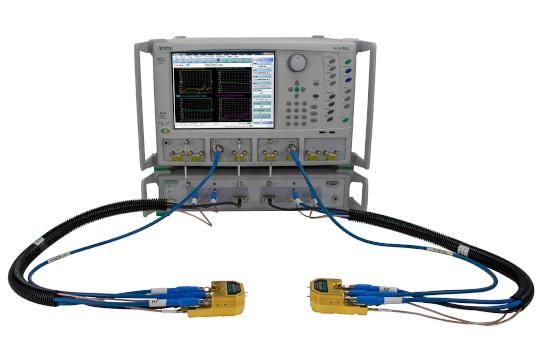 Analizador vectorial de banda ancha