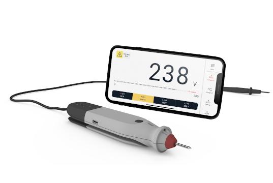 Multímetro osciloscopio y logger portable