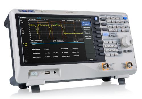 Analizadores de espectro y red vectoriales de hasta 7,5 GHz