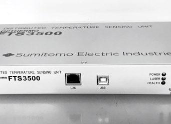 detección de temperatura por fibra óptica