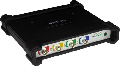 Osciloscopios WiFi para el sector del automóvil