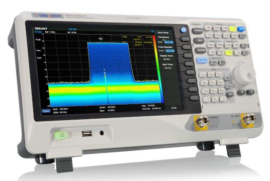 Analizadores de espectro con capacidad de tiempo real