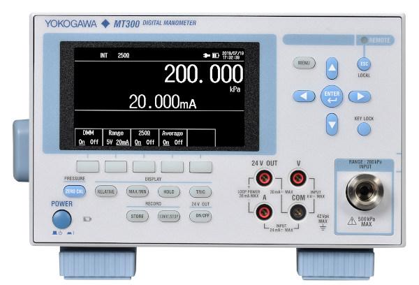 Manómetros digitales con pantalla a color