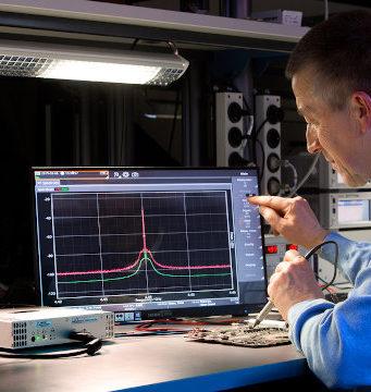 Analizador de espectros en plataforma abierta