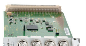 Módulo programable de E/S para señales de 10 MHz