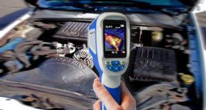 Cámara térmica para reparación de equipos electrónicos
