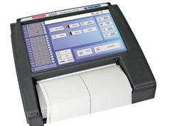 Registrador con impresora térmica
