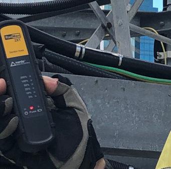Medidor personal de campos electromagnéticos