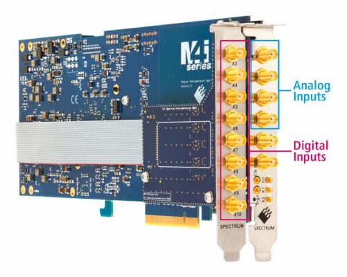 Digitalizadores PCIe con ocho entradas digitales adicionales
