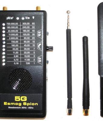 Receptor de banda ancha hasta 8 GHz