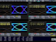 Osciloscopio para pruebas de USB 4