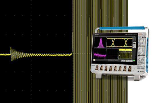Osciloscopio de 10 GHz para señales mixtas