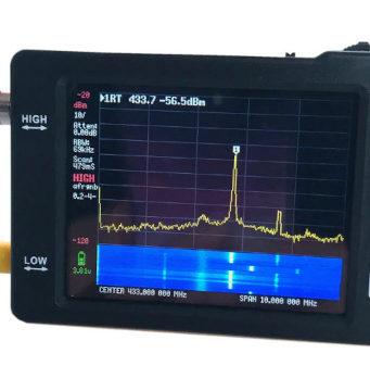 Analizador portable de espectro