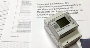 Medidores de energía con certificado
