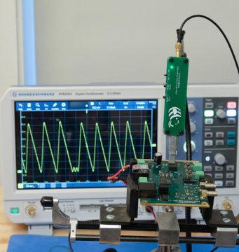 Sonda de corriente y de campo magnético