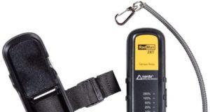 RadMan 2XT medidor con umbrales de alarma ajustables