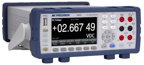 """Multímetros 5490C con pantalla LCD de 4.3"""" y 5 ½ y 6 ½ dígitos"""