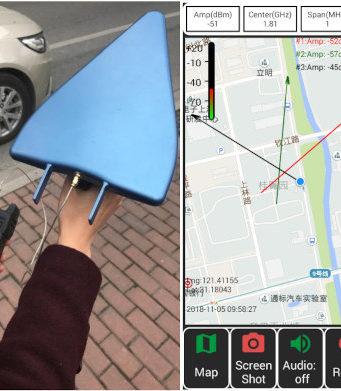 Localizador de interferencias basado en Android