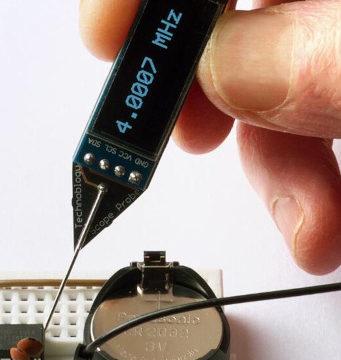 Sonda de frecuencia con diseño en miniatura