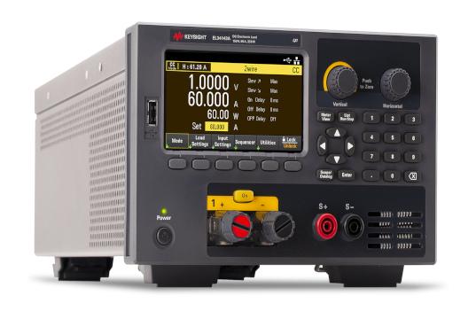 EL30000 Cargas electrónicas DC con formato bench
