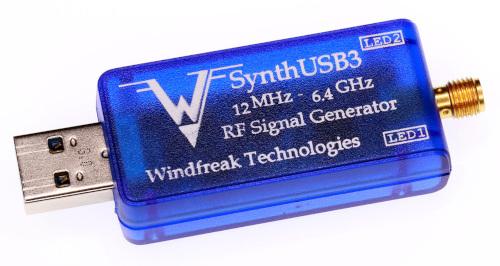 """SynthUSB3 Generador de señales de microondas """"de bolsillo"""""""