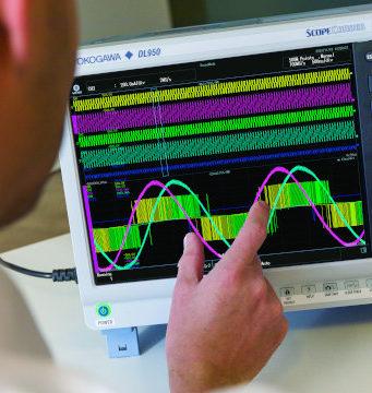 ScopeCorder DL950 adquisición de datos de alta velocidad