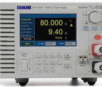 QPX750SP Fuente de alimentación DC de 750 W para laboratorio