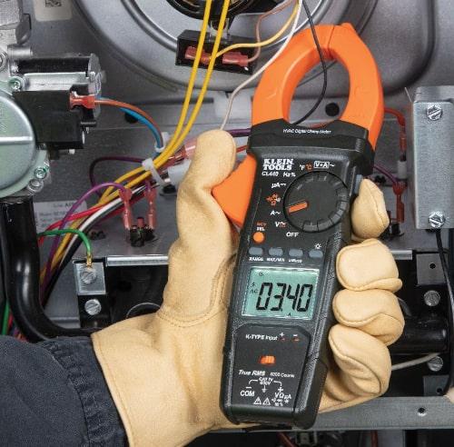 Medidor amperimétrico CL440 HVAC