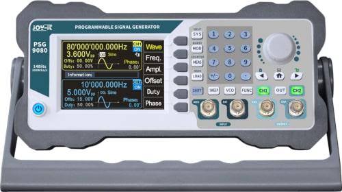 """PSG9080 Generador de señales programable con LCD de 3.5"""""""